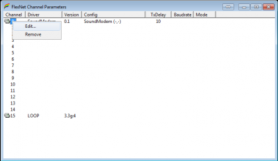 FlexNet Parameters 5