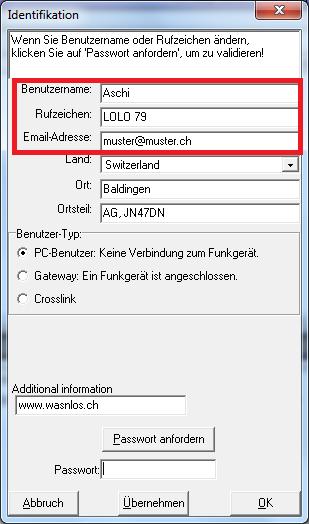 FRN-Raum Zugriff Antragsdaten