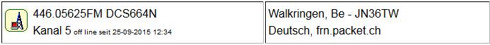 Gateway Walkringen seit 25.09.2015 um 12:34 Uhr Offline
