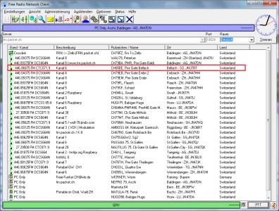 PMR Gateway Bellach auf Kanal 6 mit CTCSS 71.9