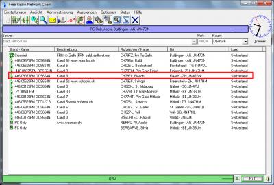 PMR Gateway Flaach mit DCS664N