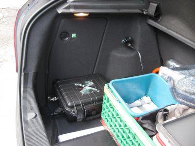 Mobil Gateway von Norton 75 im Auto