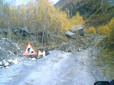 Bauarbeiten Herbst 2006
