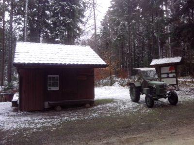 Erster Test per CB auf den Gateway zu Hause in der nähe der Alpenrosen Schneisingen