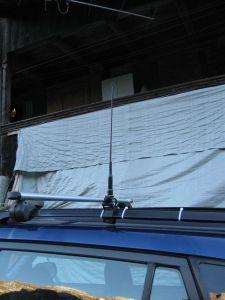 Die 70cm/2m Antenne
