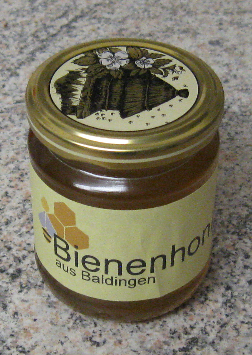 250 g Glas Baldinger Blüten-Honig Roh (Kistallisiert nach ca. 1 Monat)