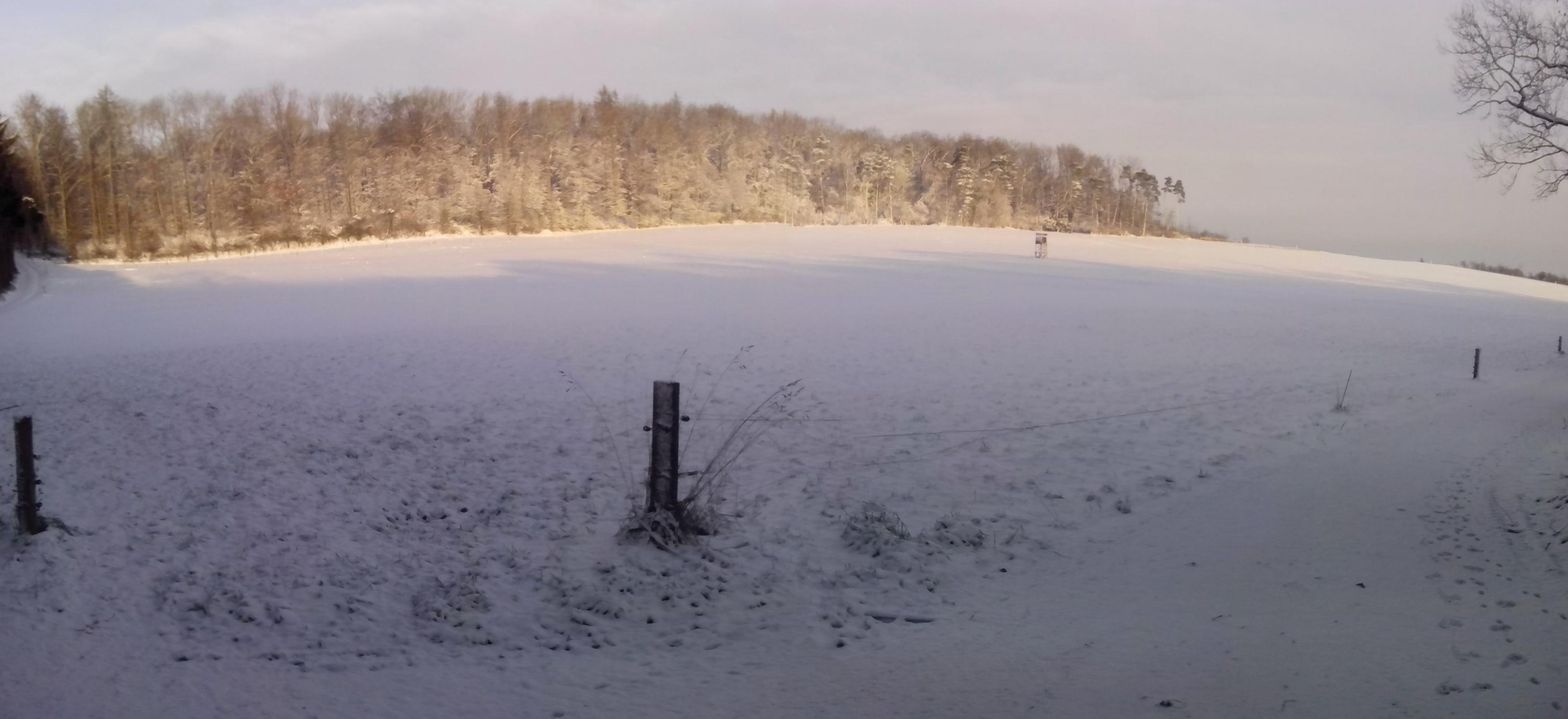 Winterlandschaft noch schöner wenn die Sonne scheint !