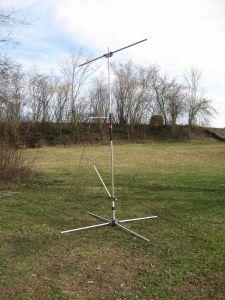 Antenne für Thedy's Amateuranlage