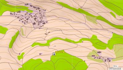 Standort des Umlenkspiegelturmes