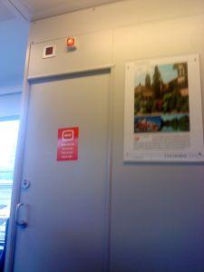 WC ausser Betrieb am 4.Mai 2013 um 13:55 Uhr in der S41 Richtung Waldshut