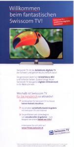 Swisscom Angebot 2. Seite