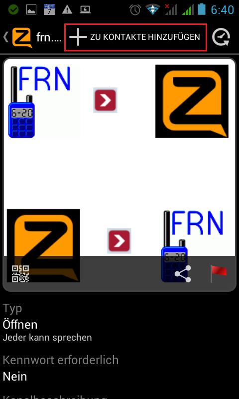Zellokanal hinzufügen Bild 5