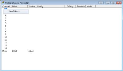FlexNet Parameters 3