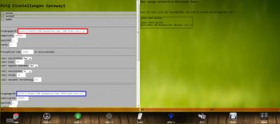 Audio Hardware für Gate 1 im PiCQ einstellen (Von rechter Seite kopiert = Richtig)