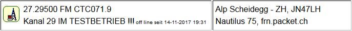 CB Gateway Scheidegg seit 14.11.2017 um 19:31 Uhr Offline