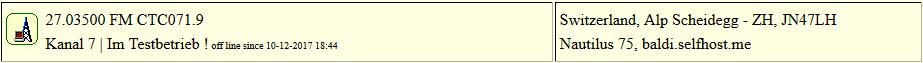 CB Gateway Scheidegg seit 10.12.2017 um 18:44 Uhr Offline