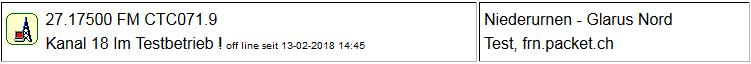 CB Gateway Glarus Nord seit 13.02.2018 um 14:45 Uhr Offline