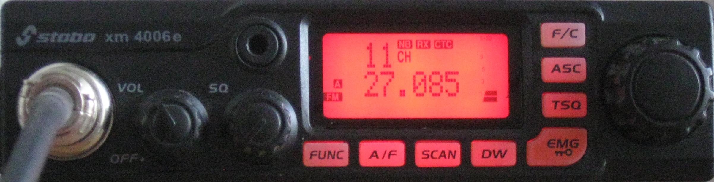 QRM-Pegel auf Kanal 11 in Baldingen am 17.10.2018 um ca 15:30 Uhr