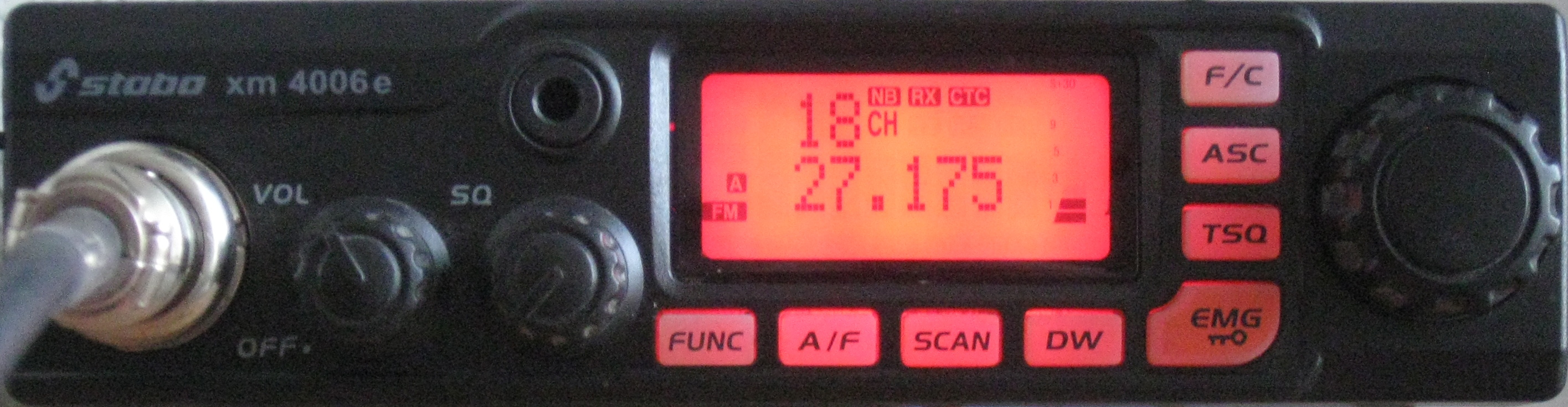 QRM-Pegel auf Kanal 18 in Baldingen am 17.10.2018 um ca 15:30 Uhr