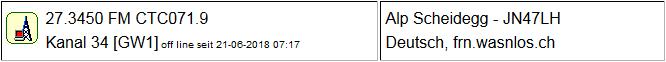 CB Gateway Scheidegg II seit 21.06.2018 Offline