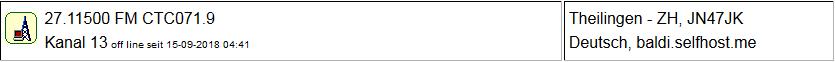 CB Gateway Theilingen seit 15.09.2018  Offline