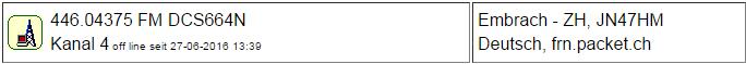 PMR Gateway Embri II seit 27.06.2016 Offline