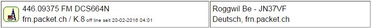 Gateway Roggwil seit 20.02.2016 Offline