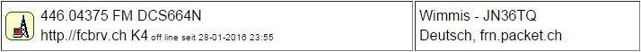 Gateway Wimmis seit 28.01.2016 um 23:55 Uhr Offline
