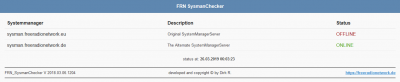 Alternate FRN SystemManager (sysman.freeradionetwork.eu) am 26.03.2019 um 06:03 Uhr Offline