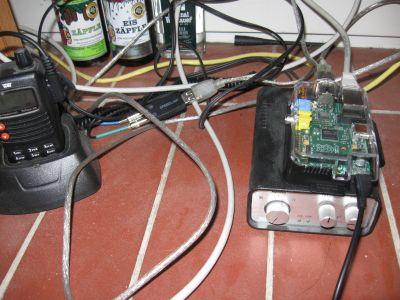 Raspberry Pi als Gateway-Rechner im Testbetrieb