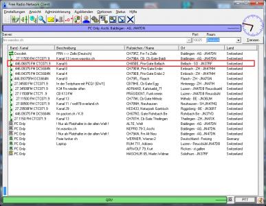 PMR Gateway Bellach auf Kanal 6 mit DCS664N