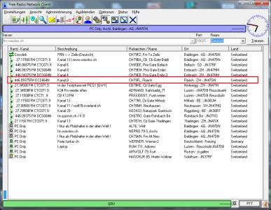 PMR Gateway Flaach auf Kanal 8 mit DCS664N