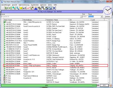 PMR Gateway Taegerig auf Kanal 2 mit DCS664N