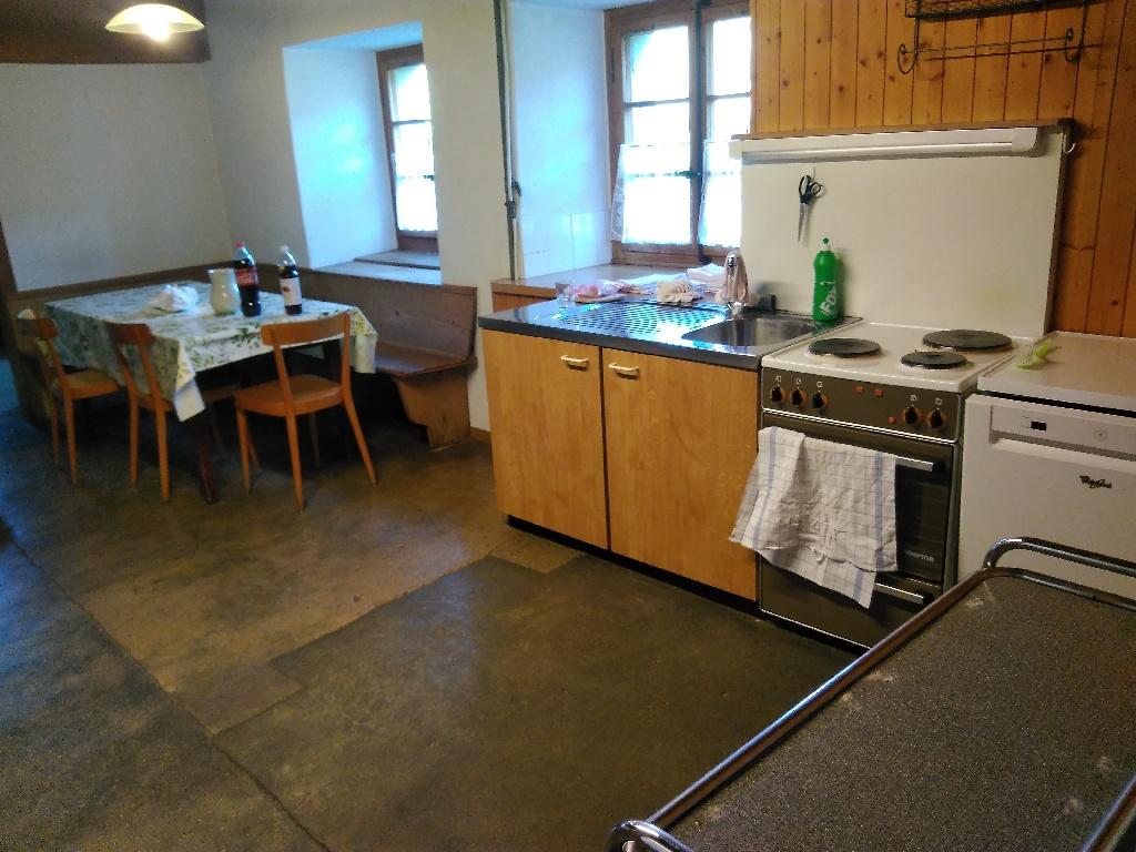 Küche vom 'unteren Graffenrieder' zweite Blickrichtung