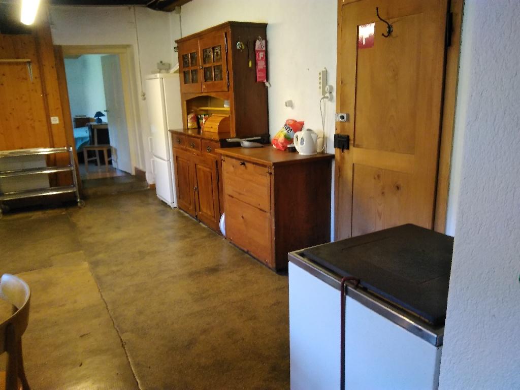 Küche vom 'unteren Graffenrieder' ersten Blickrichtung
