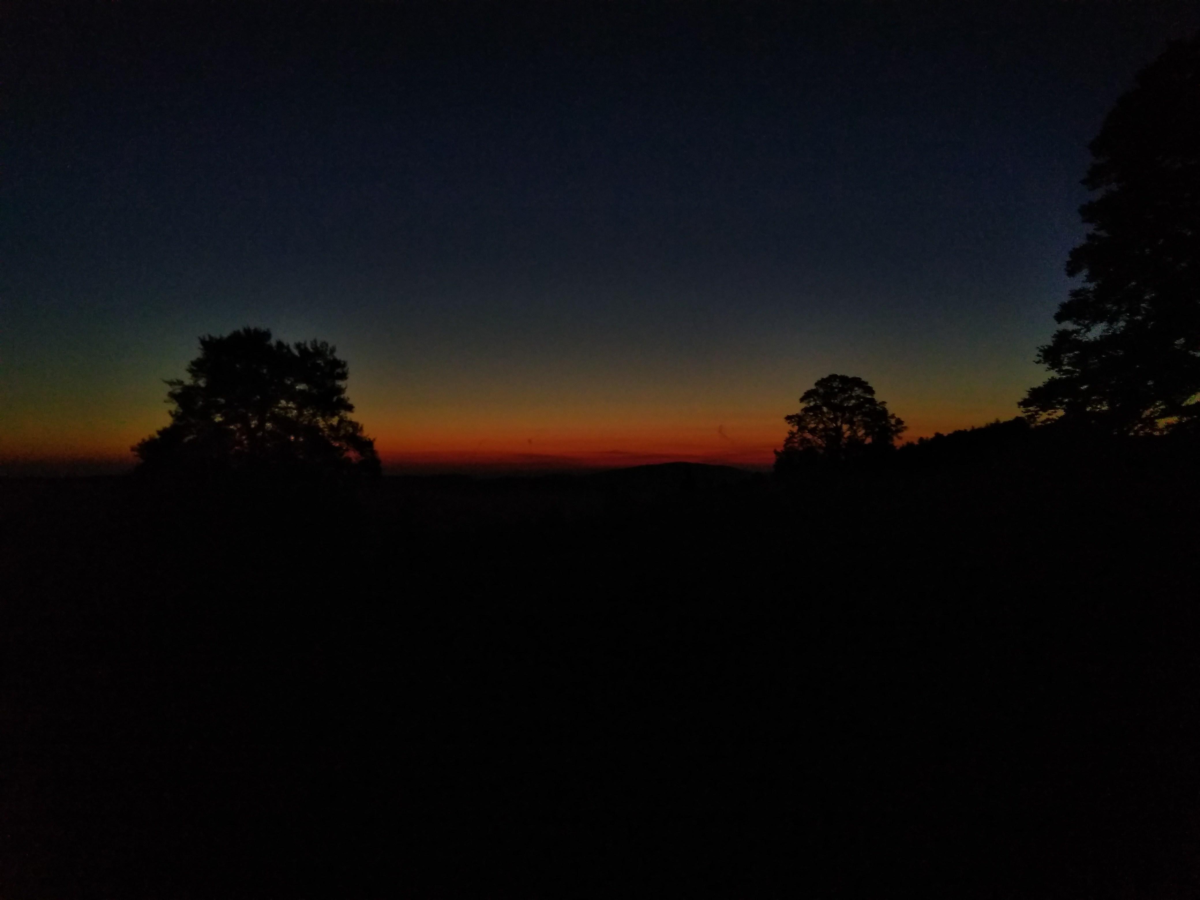Sonnenaufgang am 21. Mai um 04:48 Uhr vom 'oberen Graffenrieder'