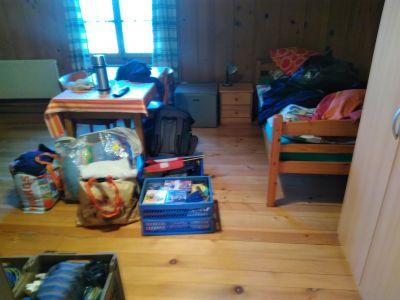 Mein Zimmer, eingerichtet nach Aschi, von der ersten Blickrichtung