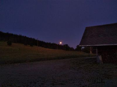 Monduntergang am 17.07.2019 um 05:20 Uhr im 'oberen Graffenrieder'
