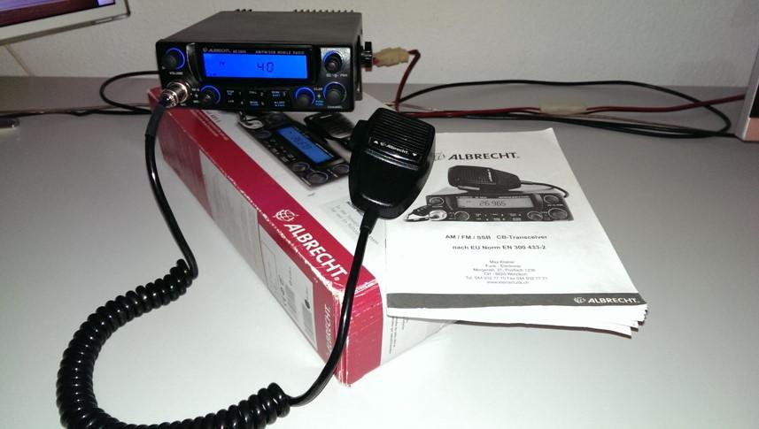 CB Funkgerät Albrecht AE 5800 von Nautilus 75