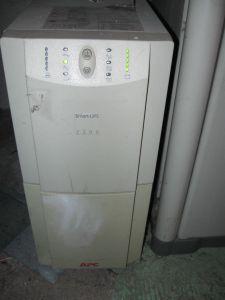 Unsere USV (unterbrechungsfreie Stromversorgung)