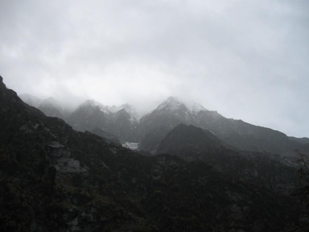 Schnee auf dem Hockenhorn