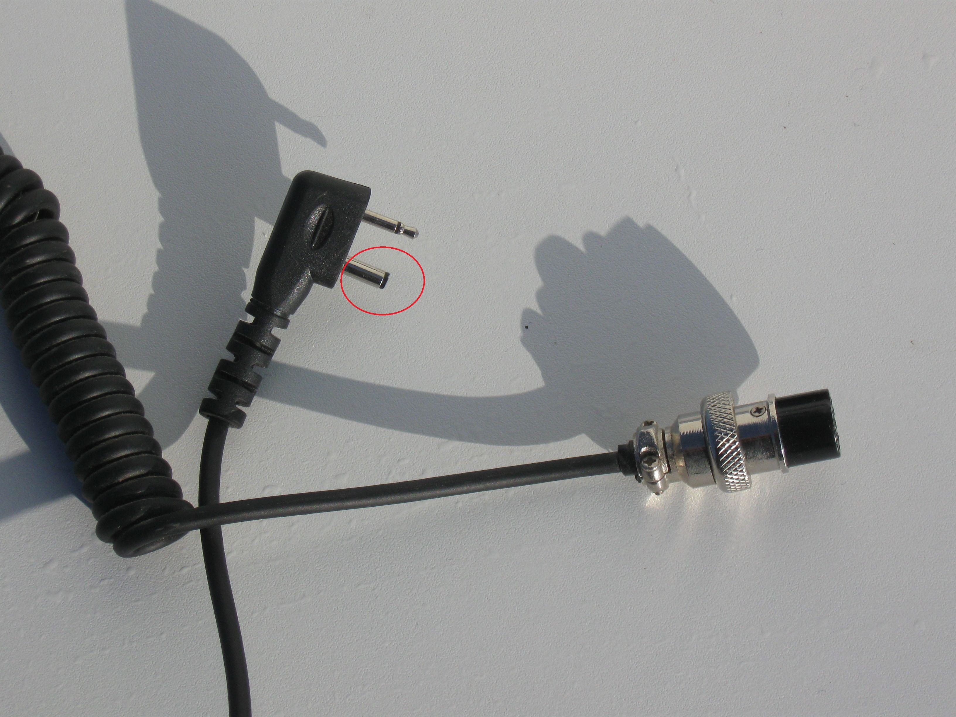 Der 3.5mm Klinkenstecker beim Gateway Flaach sieht irgendwie kurz aus