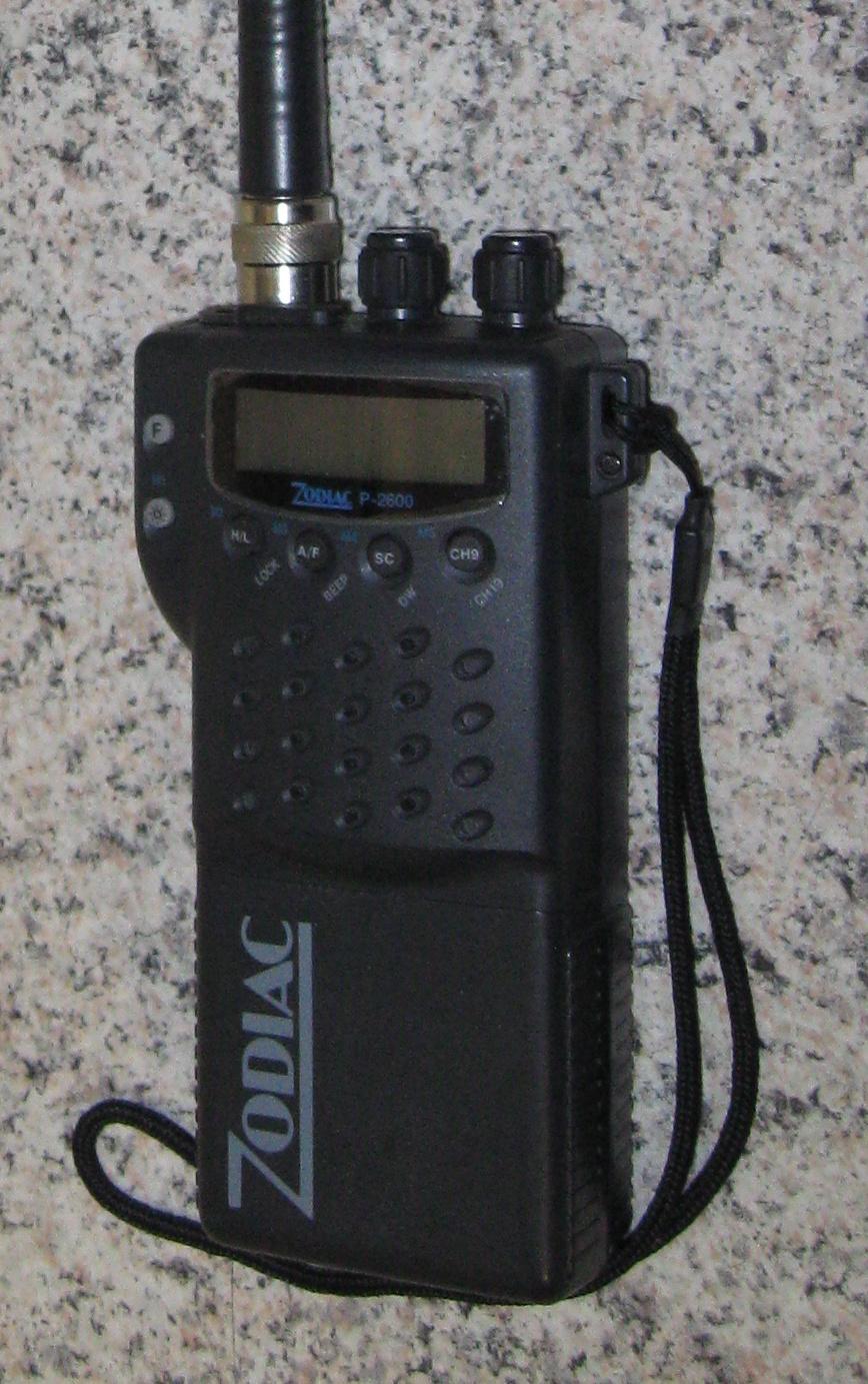 Mein Zodiac P-2600 mit eingebautem CTCSS-Encoder