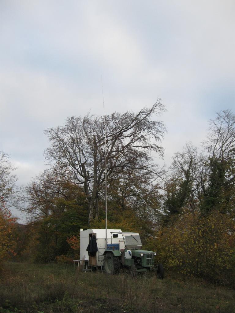 Seit 3. November ca. 15 Uhr bin ich auf dem Rotberg auf 11 Meter QRV