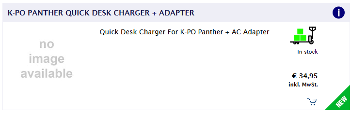 Schnelllader zu K-PO Panther ?