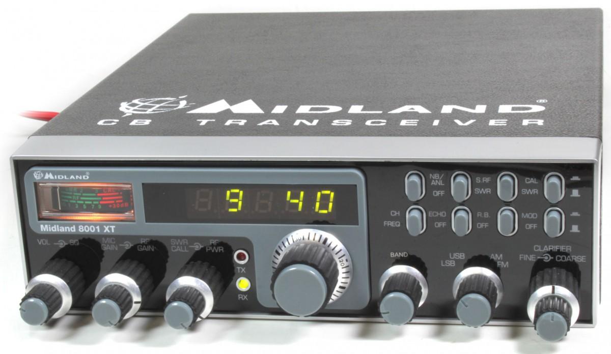 CB Funkgerät Midland 8001 XT