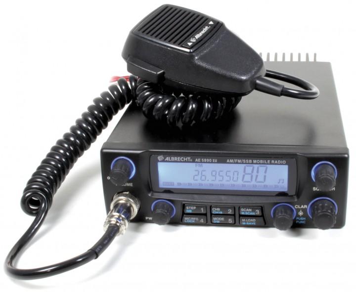 Das neue Albrecht AE 5890 EU CB 40 Kanal AM/FM/SSB 4 Watt / SSB 12 Watt