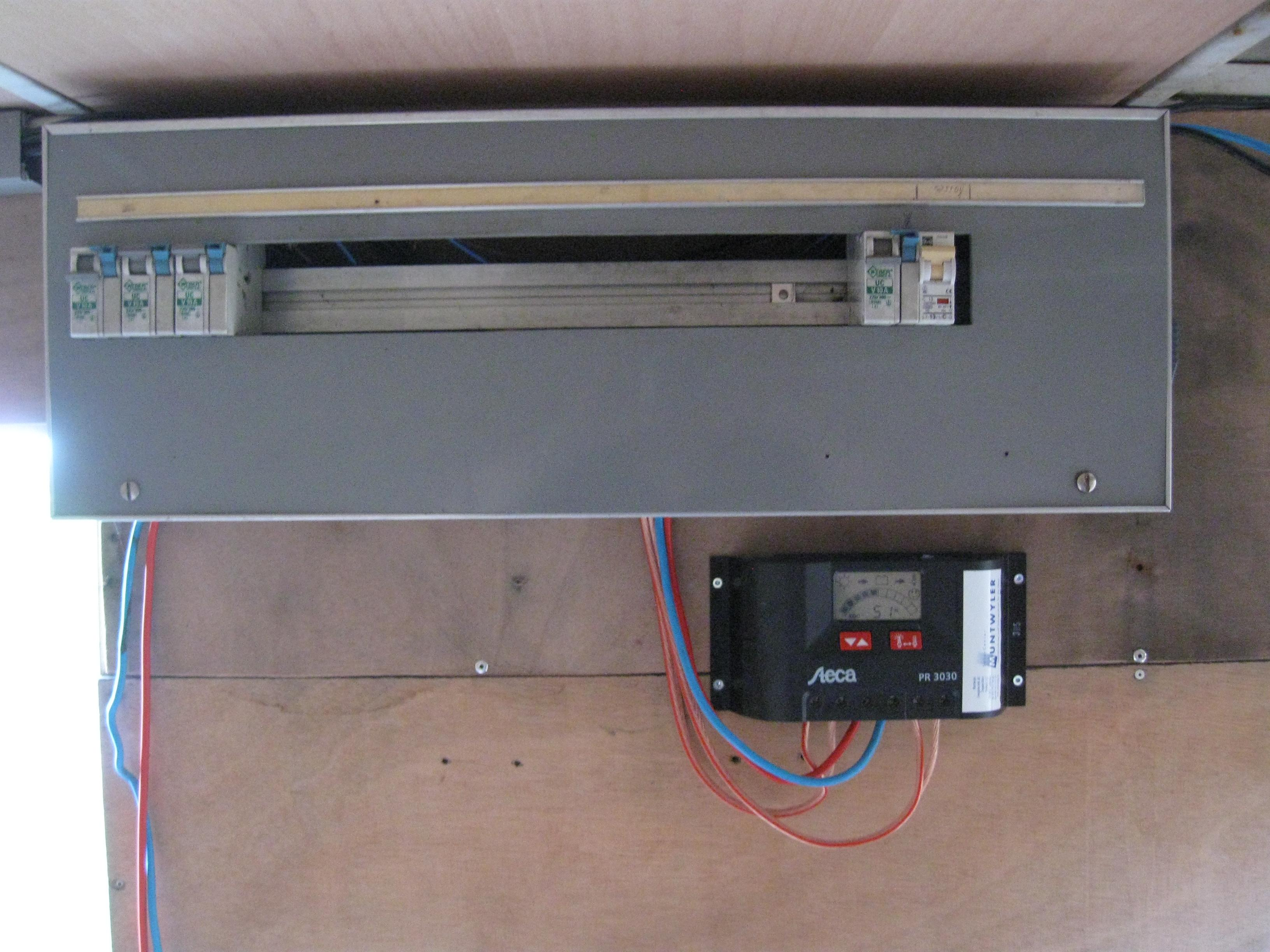 Solarladeregler von Turi für den Funkanhänger zur Verfügung gestellt