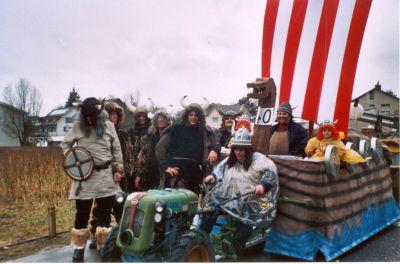Fasnachts-Sujet 2003 Wickie und die starken Männer