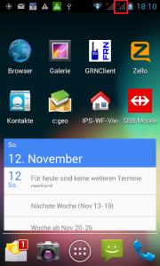 Nach dem Stromausfall um 15:24 Uhr, ist das Swisscom-Mobile Relais in Böbikon um 18:10 Uhr ausgefallen